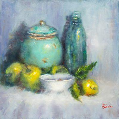 Oil - Aqua Jars & Lemons