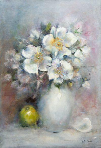 Oil - Wild Roses - 38x55